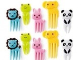 10-Piece Bento Animal Food Picks and Forks $3.05 Shipped