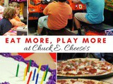 5 Reasons To Have a Big Kid's Chuck e Cheese Birthday Party