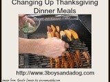 Changing Up Thanksgiving Dinner Meals