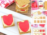 Easy Valentine Smores with Peeps