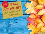 Free Fall Activities to do as a Family