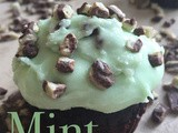 Gluten Free Mint Chocolate Chip Cupcakes