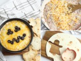 Halloween RoTel Dip Recipe with Baked Tortilla Chips
