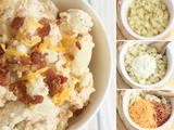Hearty and Flavorful Bacon Cheddar Ranch Potato Salad