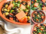 Hearty Black Bean and Sweet Potato Soup Recipe