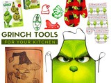 Insanely Adorable Grinch Cooking Tools