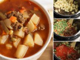 Instant Pot Hamburger Soup Recipe