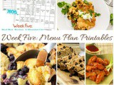 Menu Plan Monday: Low Cost End of the Month Meals