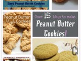 Over 15 Ways to Make Peanut Butter Cookies