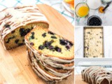 Perfectly Sweetened Blueberry Orange Bread Recipe