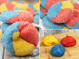 Primary Sparkle Cake Mix Cookies