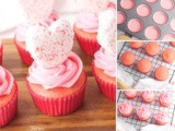 Strawberry Valentine Cupcakes Recipe