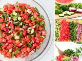 Sweet and Simple Watermelon Salsa Recipe