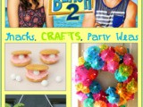 Teen Beach 2 Snacks and Crafts for Movie Night