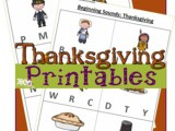 Thanksgiving Early Reader Worksheets