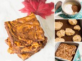 The Perfect Autumn Pumpkin Brownies
