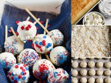 These July 4th Cake Pops are the Perfect Patriotic Treat