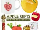 Unique Apple Gifts for Teachers