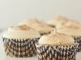 Chai spice hominy cupcakes