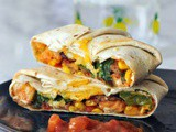 Fish Taco Crisp Wraps with Mango Salsa