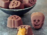 Pumpkin Caramel Chocolates