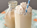 Salted caramel milkshake [homemade Baileys recipe]