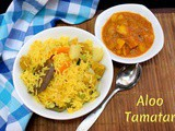 Aloo Tamatar | Easy Potato Gravy for Pulao
