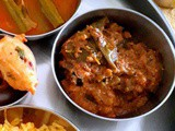 Brinjal Curry ~ Easy Side Dish for Biryani