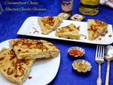 Caramelized Onion & Roasted Garlic Focaccia