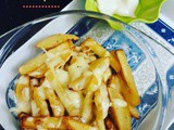 Cheesy French Fries with Mayo
