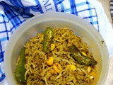 Corn Karuveppilai Sadam | Easy Curry Leaf Rice for Lunchbox