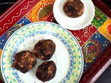Dark Chocolate Fudge Truffles ~ Easy Diwali Sweet