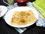 Onion Msemen | Moroccan Stuffed Onion Flatbread