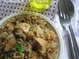 Chicken Biryani - with home ground spices