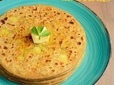Aloo Methi Paratha / Aloo Methi Stuffed Paratha Recipe