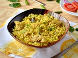 Andhra Chicken Pulao / Chicken Pulao (Using Coconut & Poppy Seeds)