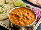Channa Masala | Badami Channa Masala | Easy Chole Recipe | Chickpeas In Almond Onion Tomato Gravy