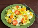 Cherry Tomato Lettuce Salad / Cherry Tomato Salad With Simple Vinaigrette Dressing