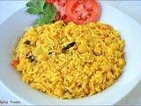Chickpeas Coconut Milk Biryani / Channa Biryani with coconut milk