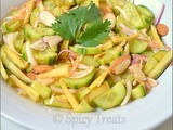 Cucumber Salad ~ Tangy n Refreshing