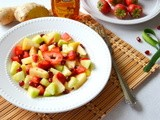 Fruit Salad With Ginger Honey Dressing ~ Winter Special