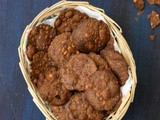Ragi Thattai Recipe | Thattai Recipe Using Ragi Flour | How To Make Ragi Thattai