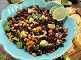 Black Eyed Peas Cowboy Caviar Recipe with Pickled Onion