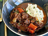 Dutch Oven Easy Beef Bourguignon, Paleo, Keto Friendly