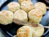 Easy Sourdough Biscuits with Sourdough Starter