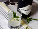 Gin Basil Smash and Lemon Simple Syrup Recipe