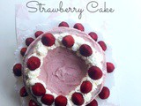 Gluten Free Strawberry Cake (Low Carb, Grain Free)