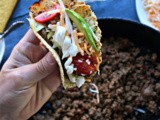 Ground Beef Taco Meat and a Secret Ingredient