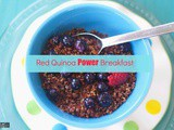 How to Cook Red Quinoa for a Power Breakfast