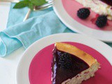 How to Make a Cheesecake and Blackberry Sauce Recipe